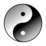 Tai chi symbol yin and yang